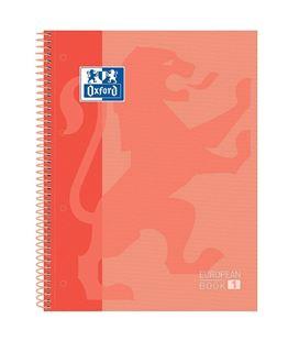 Cuaderno espiral a4 5x5 80h 90grs t/e/d melocoton oxfoliord 400119096 - 60209