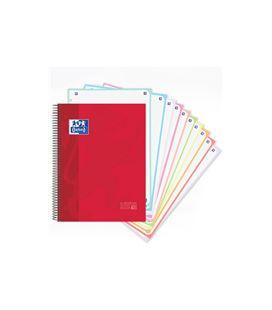 Cuaderno microperfoliorado espiral a4 5x5 150h 90grs t/e/d oxfoliord 400118931 - 60210