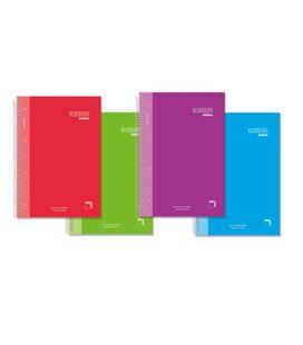 Cuaderno fº 4x4 80h 90grs colores surtidos premium extra pacsa 16478