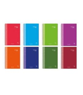 Cuaderno a5 5x5 120h 90grs microperfoliorado pacsa 16480