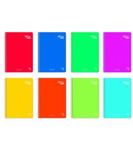 Cuaderno fº horizontal 80h 90grs t.dura institut pacsa 16284