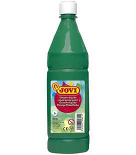 Tempera liquida 1000ml verde oscuro jovi 511/19 004794 - 34170