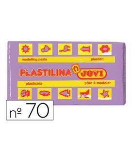 Plastilina 50 grs lila jovi 70/14