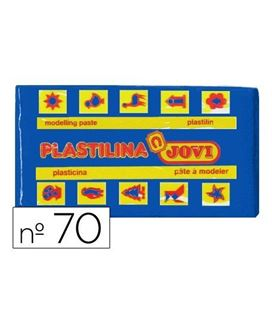 Plastilina 50grs azul oscuro jovi 70/13 - 29197