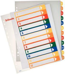 Separadorse a4 12 posiciones pp imprimibles esselte 100214 - 17901