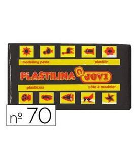 Plastilina 50 grs negra jovi 70/15