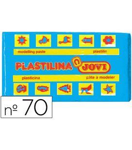 Plastilina 50 grs azul claro jovi 70/12