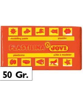 Plastilina 50 grs naranja jovi 70/04