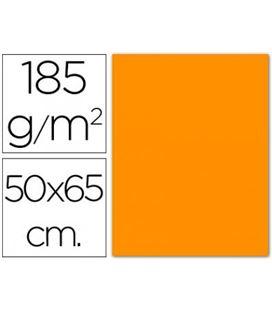 Cartulina 50x65cms 25h 185grs gualda guarro 200040222