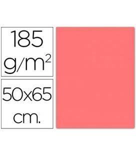 Cartulina 50x65cms 25h 185grs rosa guarro 200040225