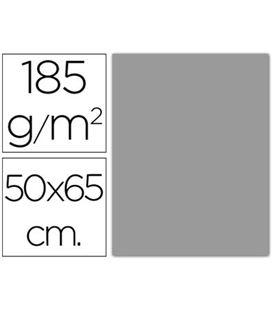 Cartulina 50x65cms 25h 185grs gris perla guarro 200040243