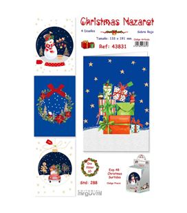 Postal christmas nazaret arguval 43831