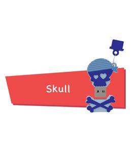 Memoria usb 16gb skull cartoon pryse 90057 - 90057