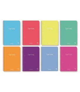 Cuaderno fº nº46 80h 90grs pp plastipac pacsa 16476 - 16467