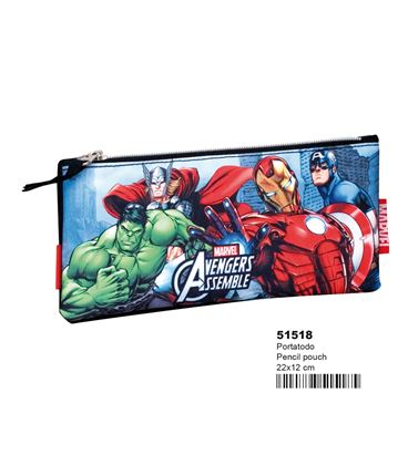 Estuche vacío plano superheroes montichelvo 51518 - 51518