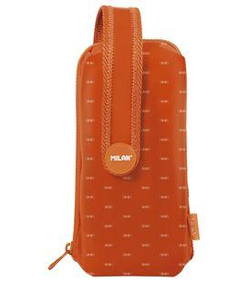 Estuche con pinturas y rotuladores 4 estuches naranja handly multipencilcase look 2 milan 08872lko - 08872LKO
