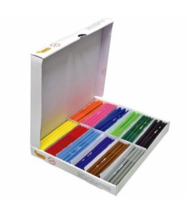 Rotulador estandar pack 144u (12 colores distintos) jovi 1699