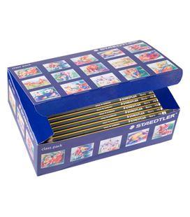 Lapicero lapiz 2hb grafito noris 120-2 c144 unidades staedtler 120-2 c144 119334