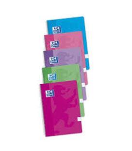 Cuaderno espiral folio 4x4 80h 90grs surtido color tendencia oxfoliord 400072719 - 400072719