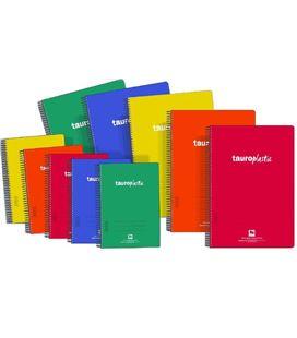 Cuaderno fº nº46 80h 90grs pp tauroplastic 6285/46-90 062847