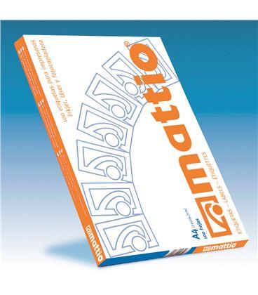 Etiqueta poliv. a4 100h 105mmx37mm 1600u mattio mtt7040102 - MTT7040102