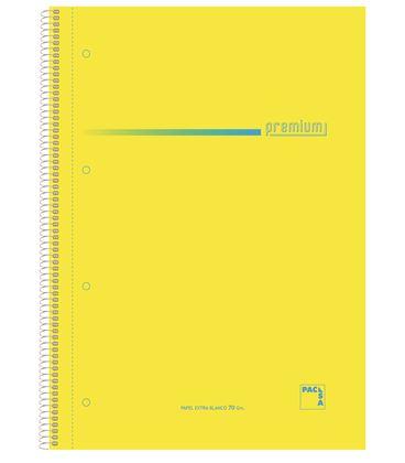 Cuaderno fº 4x4 100h 70grs surtido premium pacsa 16398 - 113958