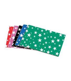 Goma eva estrellas verde claro 45x60cm carchidea 41033121 - GOMA EVA ESTRELLA