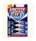 Pegamento instantaneo 3x1grs super glue-3 loctite 130431