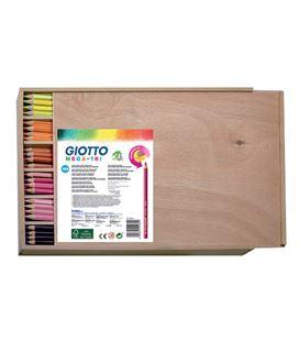 Pintura madera triangular mega-tri school giotto 220800