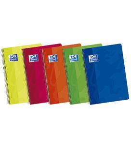 Cuaderno espiral fº 4x4 80h 90grs surtido colores vivos oxford 101950254