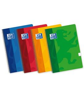 Cuaderno espiral folio 4x4 80h 90grs surtido colores vivos oxfoliord 101950254 - 170409