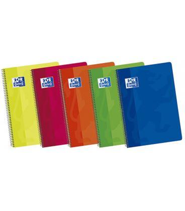 Cuaderno espiral fº 4x4 80h 90grs surtido colores vivos oxford 101950254 - 170409