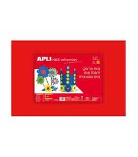 Goma eva roja 40x60 espesor 2mm apli 12756 12771 - 12756