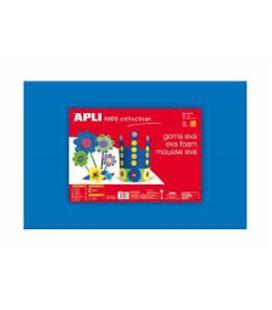 Goma eva azul 40x60 espesor 2mm apli 12763 12778 - 12763