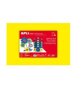 Goma eva amarilla 40x60 espesor 2mm apli 12760 12775 - 12760