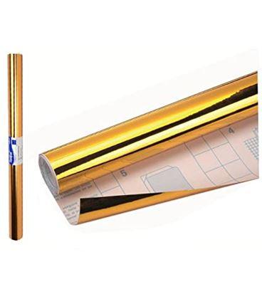 Forro adhesivo 0,50x3mts oro sadipal 12239 - 12239