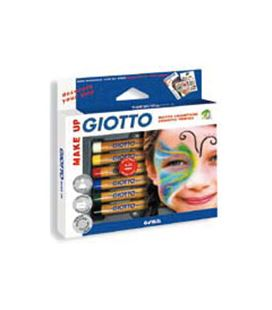 Pintura madera maquillaje make up c.6 giotto fila 470200