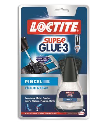 Pegamento liquido pincel 5grs super glue-3 loctite 402104 - 111178