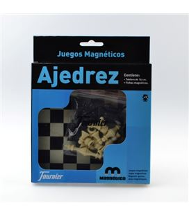 Ajedrez tablero magnetico 16cm foliournier 28982