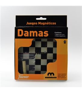 Damas tablero magnetico fournier 30004 - 30004