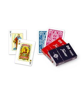 Baraja cartas remy caja carton nº20 c.55 fournier 21002 - 21002