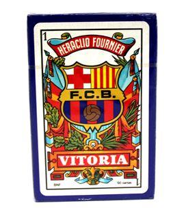Baraja cartas barcelona remy caja carton c.50 foliournier 2810 - 2810