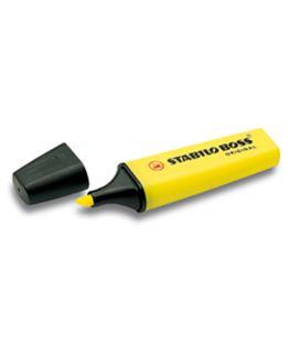 Marcador fluorescente amarillo boss original stabilo 70/24