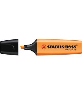Marcador fluorescente naranja boss original stabilo 70/54