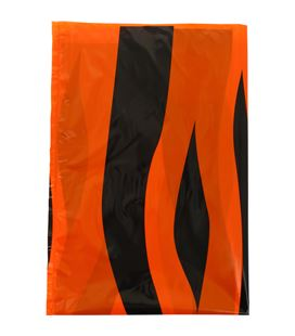 Bolsa basura 65x90 tigre (naranja/negro) 5 unidades grafolioplas 00072106 - 00072106