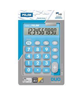 Calculadora 10 dig touch duo azul blister milan 150610tdbbl - 150610TDBBL_01