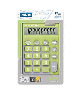 Calculadora 10 dig touch duo verde blister milan 150610tdgrbl - 150610TDGRBL_01