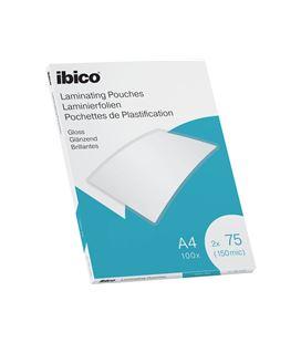 Lamina plastificacion a4 75 micras c.100 ibico 627316 065915 - 627316