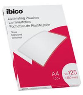 Bolsa plastificacion a4 125 micras c.100 ibico 627318 065939 - 627318
