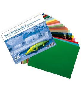 Papel manualidades surtidos bloc basico 42h sadipal 063009 - 06300